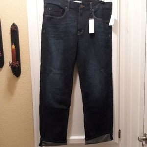 nwt banana republic boyfriend jeans 32 long